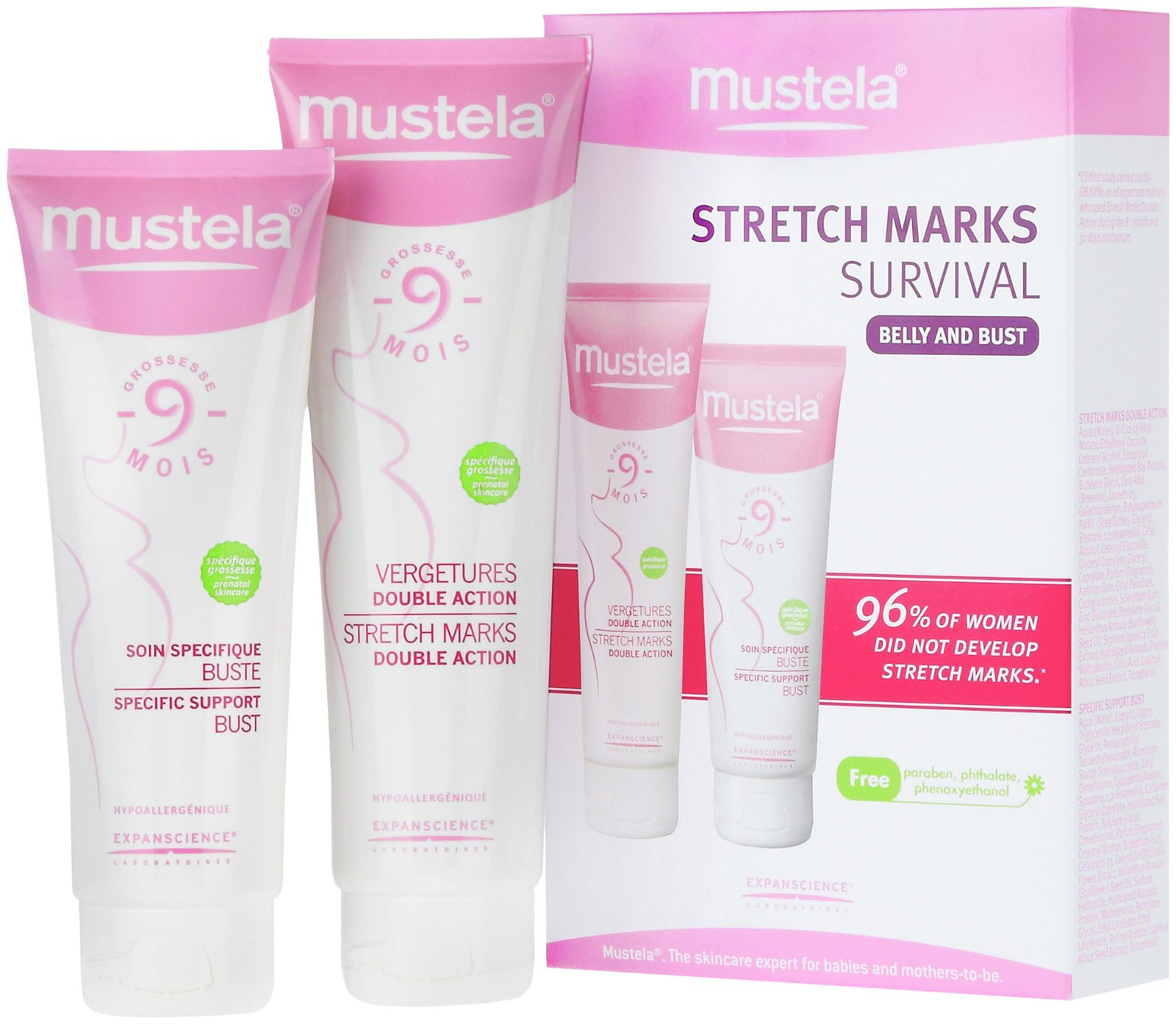 Mustela 9 Months Stretch Marks Double Action